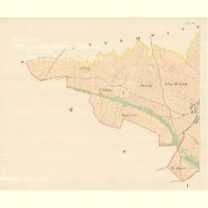 Gdossau - m1171-1-001 - Kaiserpflichtexemplar der Landkarten des stabilen Katasters