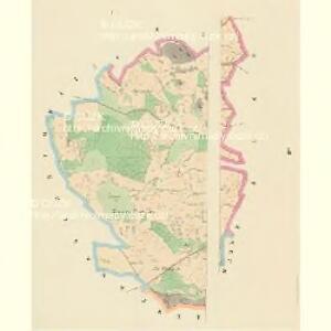 Laschan Desfours (Lažan) - c1079-1-001 - Kaiserpflichtexemplar der Landkarten des stabilen Katasters