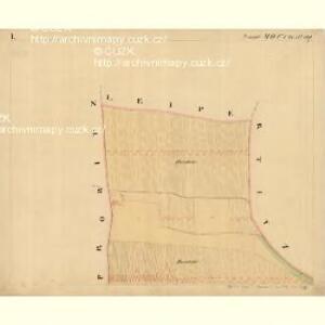 Grussbach - m0920-1-001 - Kaiserpflichtexemplar der Landkarten des stabilen Katasters