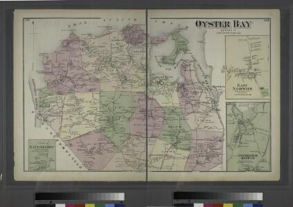 Oyster Bay, Queens Co. - Lattingtown, Town of Oyster Bay. - East Norwich, Town of Oyster Bay. - Oyster Bay Harbor, Town of Oyster Bay.