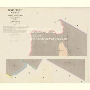 Klösterle (Klassterec) - c3130-1-001 - Kaiserpflichtexemplar der Landkarten des stabilen Katasters