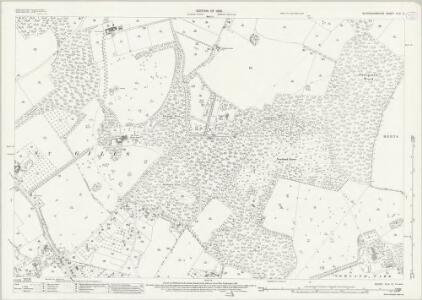 Buckinghamshire XLIII.15 (includes: Chalfont St Giles; Chalfont St Peter) - 25 Inch Map