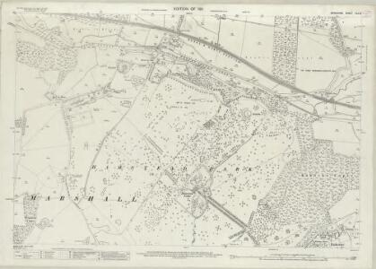 Berkshire XLII.3 (includes: Enborne; Hampstead Marshall; Speen) - 25 Inch Map