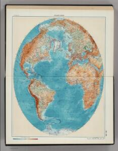 245-246.  Atlantic Ocean.  The World Atlas.