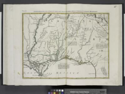 Luigiana Inglese, colla parte Occidentale, della Florida, della Georgia, e Carolina Merid[i]onale.