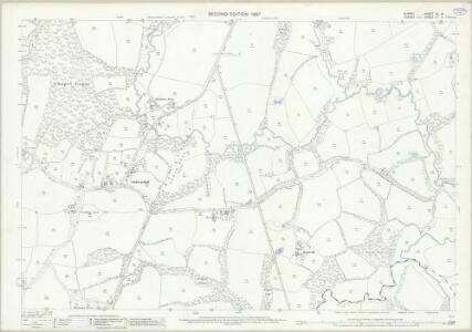 Surrey XL.14 (includes: Abinger; Ockley) - 25 Inch Map
