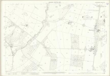 Staffordshire XL.13 (includes: Dunstall; Tatenhill; Yoxall) - 25 Inch Map