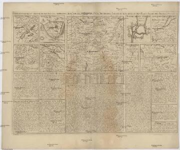 Carte des Grisons et des communautez qui composent leurs ligues, les etats de St. Gal, Neuchastel, Geneve et quelques autres etats alliez des Suisses