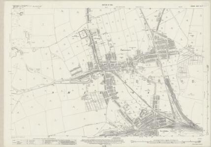 Durham XLII.11 (includes: Shildon) - 25 Inch Map