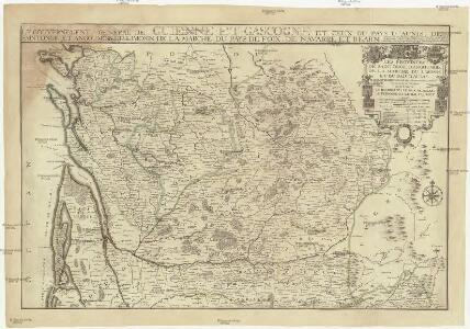 Les provinces de Saintonge, d'Angoumois, de la Marche, du Limosin, et du pais d'Aunis