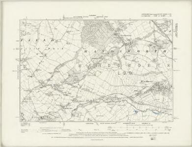 Yorkshire CCXCIV.NE - OS Six-Inch Map