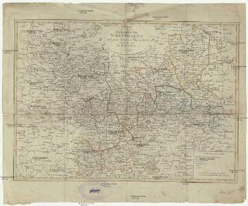 Charte von dem Königreiche Westphalen