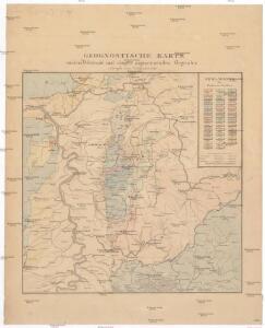 Geognostische Karte von dem Odenwald und einigen angraenzenden Gegenden