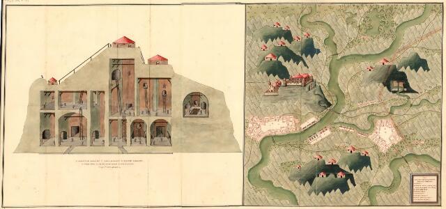 Plan der Bergwerg, Stain, und Schwamburg