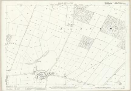 Yorkshire CCLXXXVI.5 (includes: Auckley; Blaxton; Finningley) - 25 Inch Map