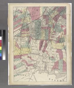 Sheet 7: Map encompassing Williamsburg, E. Williamsburg and Bushwick.