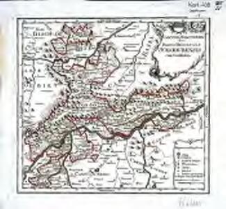 Canton Solothurn sive pagus Helvetiae Solodurensis cum confinibus