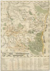 Přehledná mapa panství Nové Hrady 1