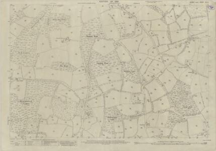Sussex XII.9 (includes: Kirdford; Plaistow) - 25 Inch Map