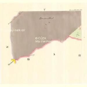 Braunöhlhütten (Wranowalhotta) - m3472-1-004 - Kaiserpflichtexemplar der Landkarten des stabilen Katasters