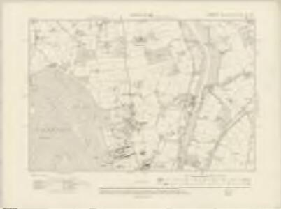 Hampshire & Isle of Wight XC.SW - OS Six-Inch Map