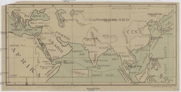 [Jižní Asie, Severovýchodní Afrika a Blízký východ]
