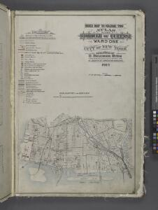 Index Map to Volume Two / by and under the supervision of Hugo Ullitz.