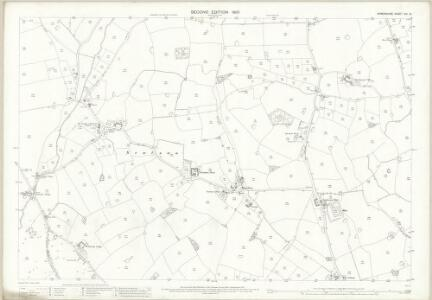 Shropshire XIV.10 (includes: Wem Rural) - 25 Inch Map