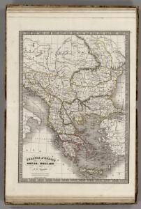 Turquie d'Europe et Crece ou Hellade.