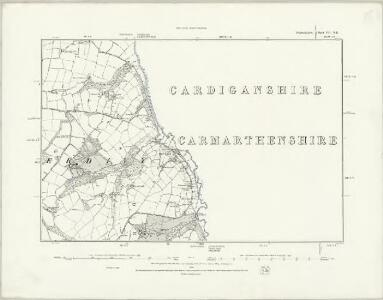 Pembrokeshire VII.NW - OS Six-Inch Map