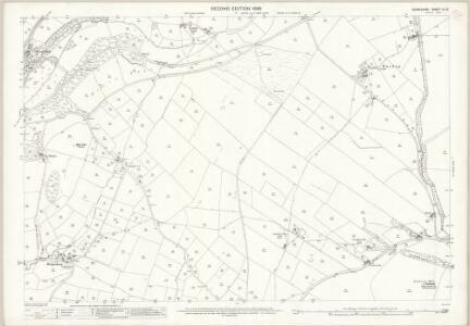 Derbyshire IX.10 (includes: Chapel en le Frith; Peak Forest) - 25 Inch Map