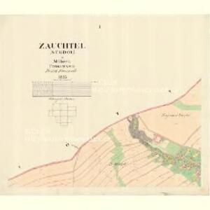 Zauchtel (Sugdol) - m2950-1-001 - Kaiserpflichtexemplar der Landkarten des stabilen Katasters