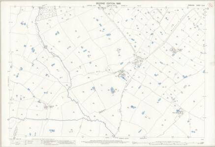 Cheshire XL.16 (includes: Darnhall; Little Budworth; Winsford) - 25 Inch Map