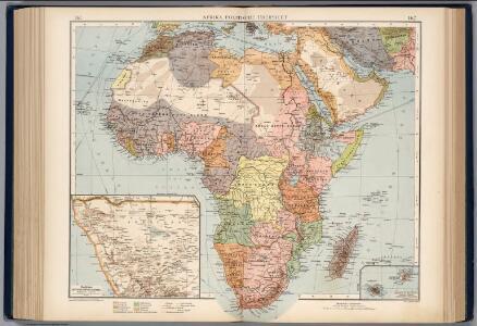 Afrika. Politische Ubersicht