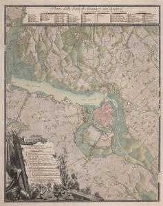 Piano della citta di Mantova e suoi contorni