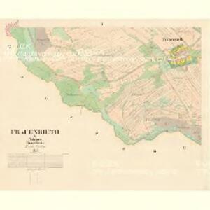 Frauenreith - c7652-2-002 - Kaiserpflichtexemplar der Landkarten des stabilen Katasters