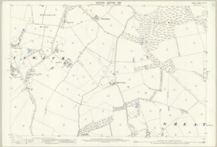 Essex (1st Ed/Rev 1862-96) XXVI.9 (includes: Coggeshall) - 25 Inch Map