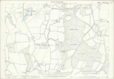 Surrey XLVI.10 (includes: Alfold; Loxwood) - 25 Inch Map