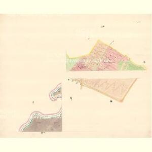 Turnitz (Twrdonice) - m3180-1-010 - Kaiserpflichtexemplar der Landkarten des stabilen Katasters