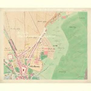 Göding (Hodonin) - m0741-1-025 - Kaiserpflichtexemplar der Landkarten des stabilen Katasters