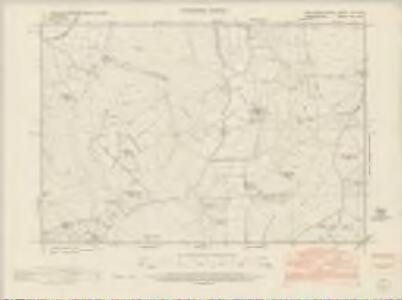 Montgomeryshire LII.NE - OS Six-Inch Map