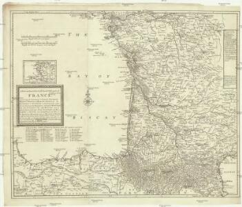 A new an exact map of ey south west part of France