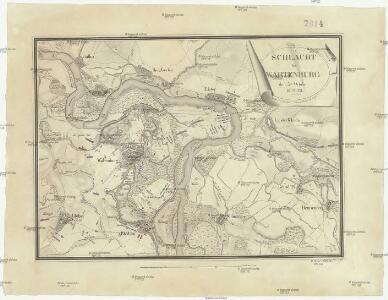 Schlacht bei Wartenburg den 3ten October 1813