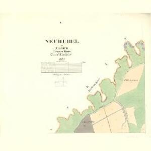 Neuhübel - m2019-1-001 - Kaiserpflichtexemplar der Landkarten des stabilen Katasters