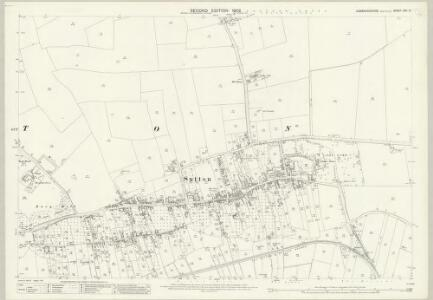 Cambridgeshire XXV.14 (includes: Mepal; Sutton) - 25 Inch Map