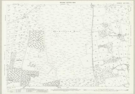 Devon XXXIII.3 (includes: Knowstone; Oakford; Rackenford) - 25 Inch Map