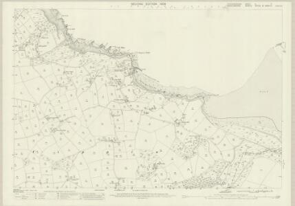 Pembrokeshire II.3 (includes: Cardigan; St Dogmaels; Verwig) - 25 Inch Map