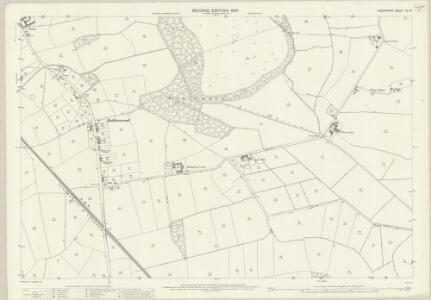 Shropshire XII.16 (includes: Whittington) - 25 Inch Map