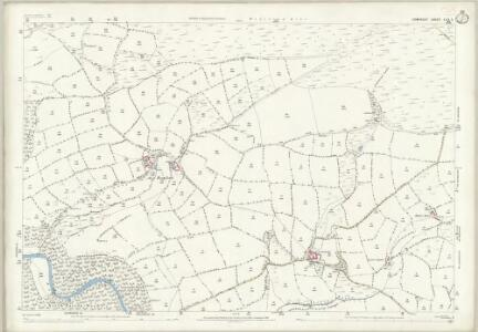 Somerset LVII.5 (includes: Dulverton; Winsford; Withypool) - 25 Inch Map