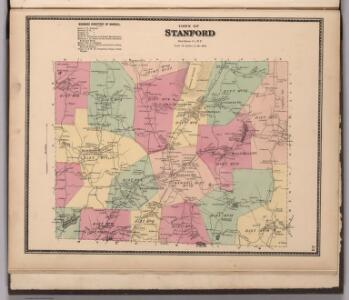 Town of Stanford, Dutchess County, New York.